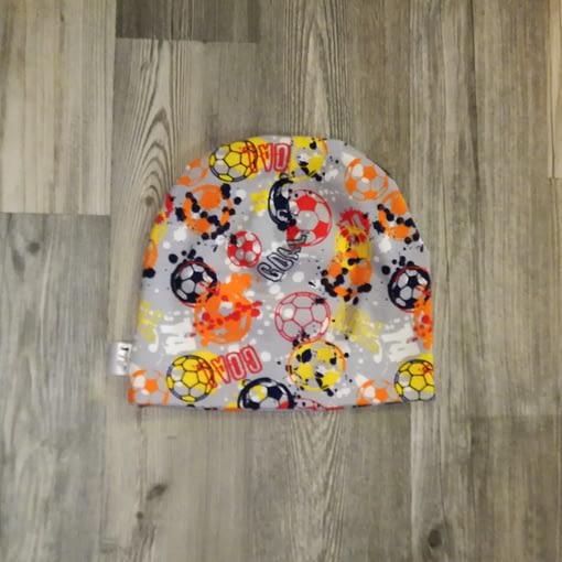 kirjava jalkapallo trikoopipo